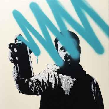 Spray your screen (dirty bleu)