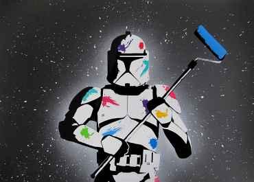The empire paints back