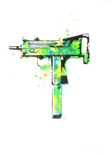 My UZI weighs a ton (green)
