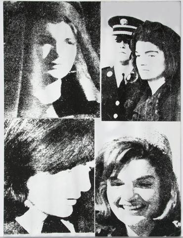Jacqueline Kennedy III (Jackie III), from 11 Pop Artists III (F. & S. II.15)