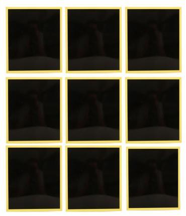 9 WINDOW PAINTINGS FROM 1000 WINDOWS´ PAINTINGS