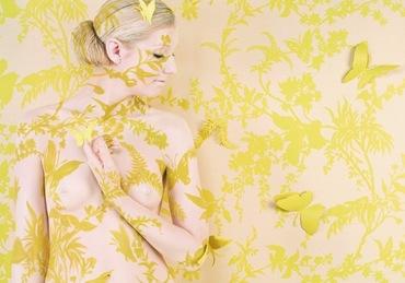 Wallpaper Tropical Butterflies