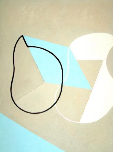 Breaking Contour (Blue Sand Form)