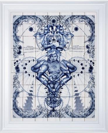 Pentade Delfts Blue
