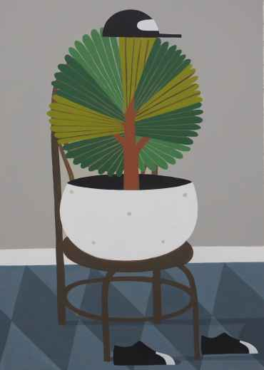 Seated Plant 7
