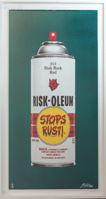 Metalic Riskoleum Teal