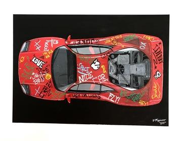 Classic meets Street Art Ferrari F40