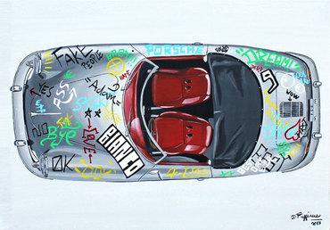 Classic meets Street Art Porsche 356