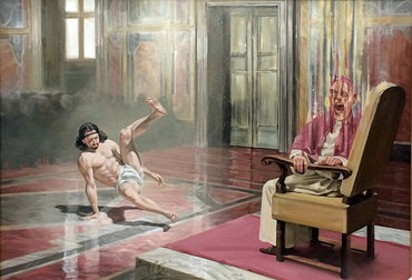 Screaming Pope and Breakdancing Jesus