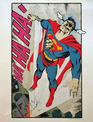 Ha, ha, not so Supermann