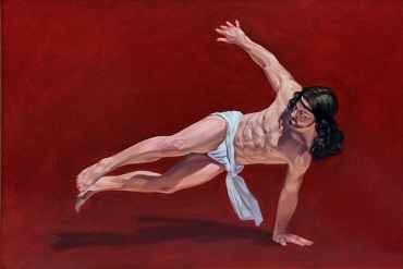 Breakdancing Jesus (Red)