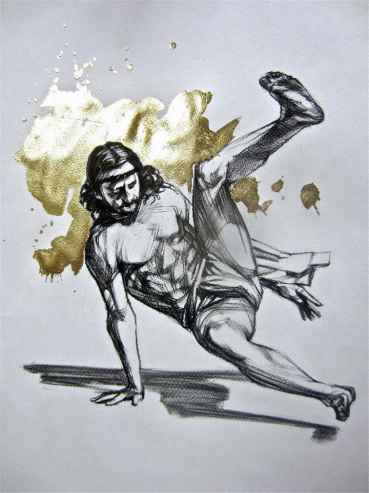 Breakdancing Christ