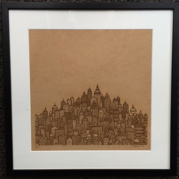 City Skyline – Wood Edition