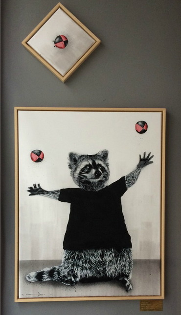 Juggler (Raccoon)