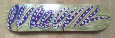 Purple Tag Skateboard