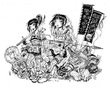 Miyazaki Bad Girl