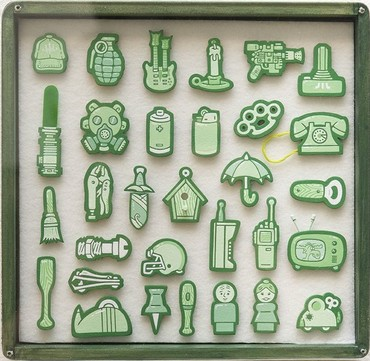 Tiny Objects (Green)