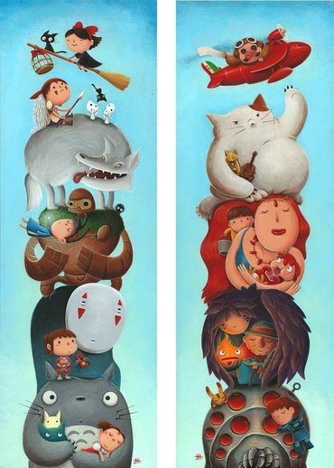 Miyazaki Totems