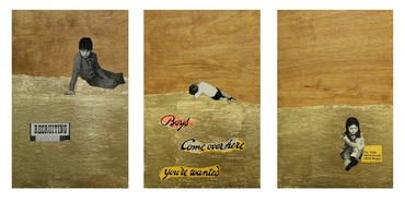 Boys! Come Over Here (triptych)