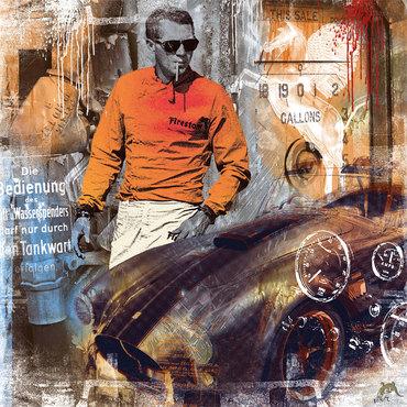 Flying Horse - Steve McQueen