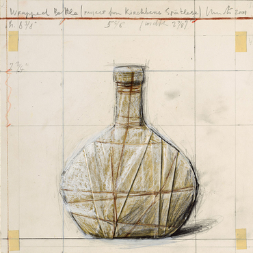 Wrapped Bottle (Project for Kirchberg Spätlese)