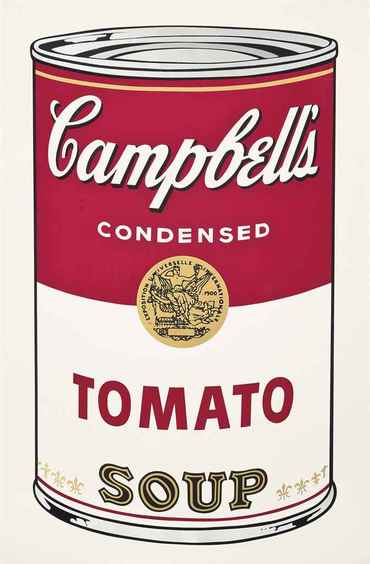 Tomato Soup, from: Campbell