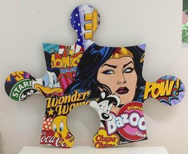 Wonder Woman - Pow!
