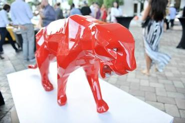 Queen Red Panther with Aluminium Teeth