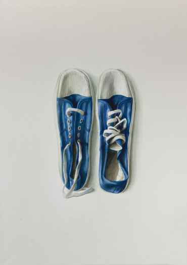 Blue Sneakers No. 7