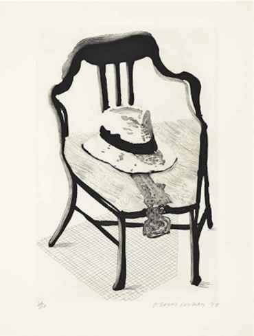 Hat On Chair from The Geldzahler Portfolio