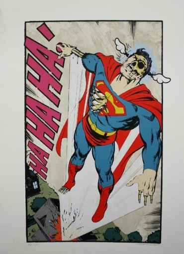 Ha, Ha, Ha Not So Superman