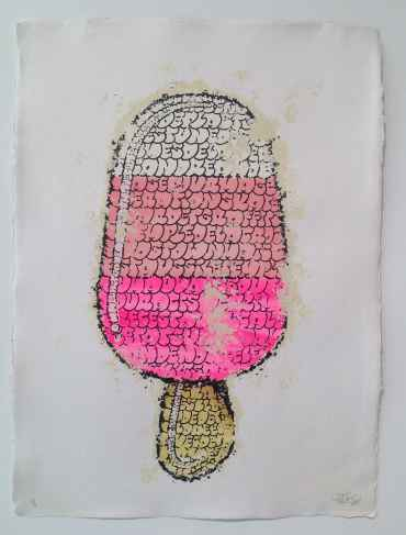 Ice Cream (white pink)