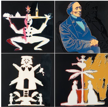 Hans Christian Andersen, set of 4, FS II.398-401