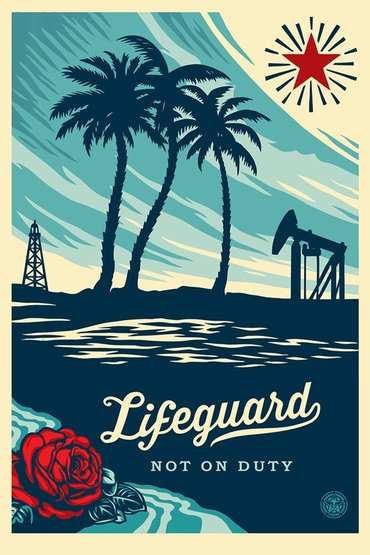LIFEGUARD NOT ON DUTY