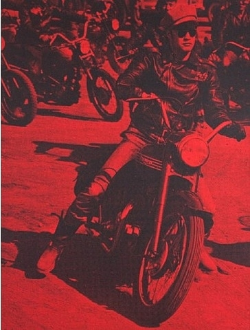 Brando on Bike (red)