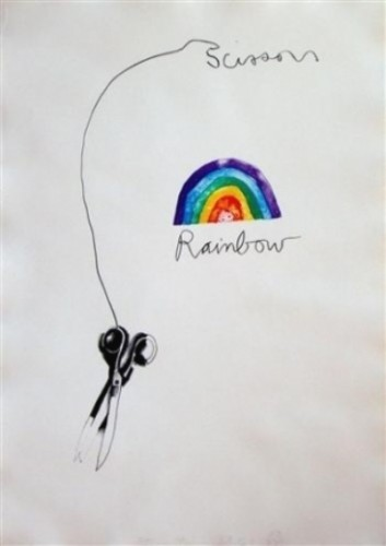 Scissors and Rainbow