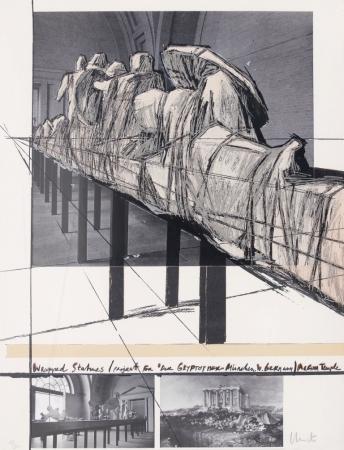 Wrapped Statues - Der Glyptothek