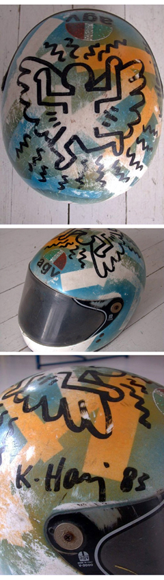 hand painted helmet
