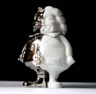 Mc Supersize Platinum Porcelain