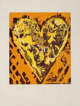 Woodcut Heart