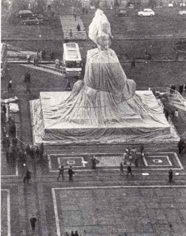 Wrapped Monument Vittorio Emanuele II
