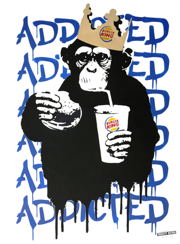 Fast Food Monkey – Burger King Blue