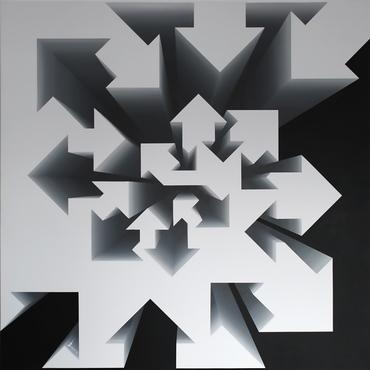 Fibonacci Nautilus – Black & White