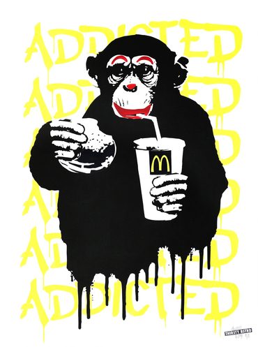 Fast Food Monkey – McDonald's Yellow