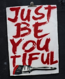 Just Be You Tiful (Brush Red Edition)