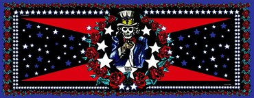 America (Black & Red)