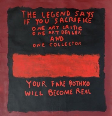 The Legend of a Fake Rothko