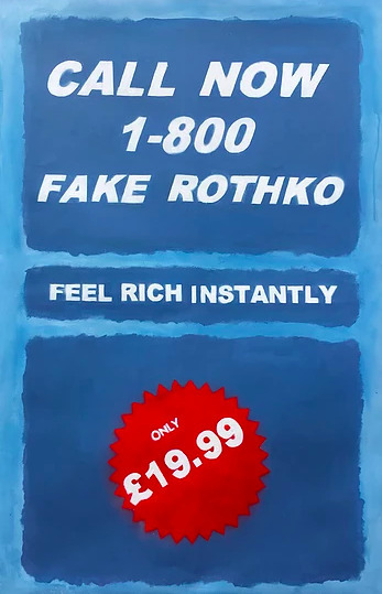 Call Now 1-800 Fake Rothko