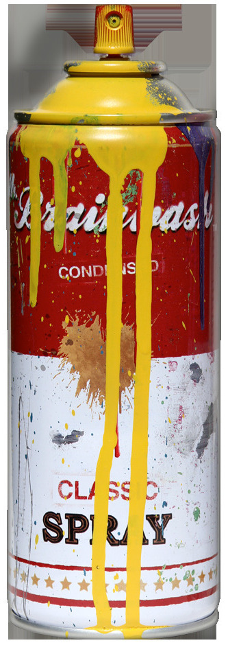 Tomato Spray Can (Yellow)