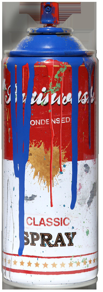 Tomato Spray Can (Blue)